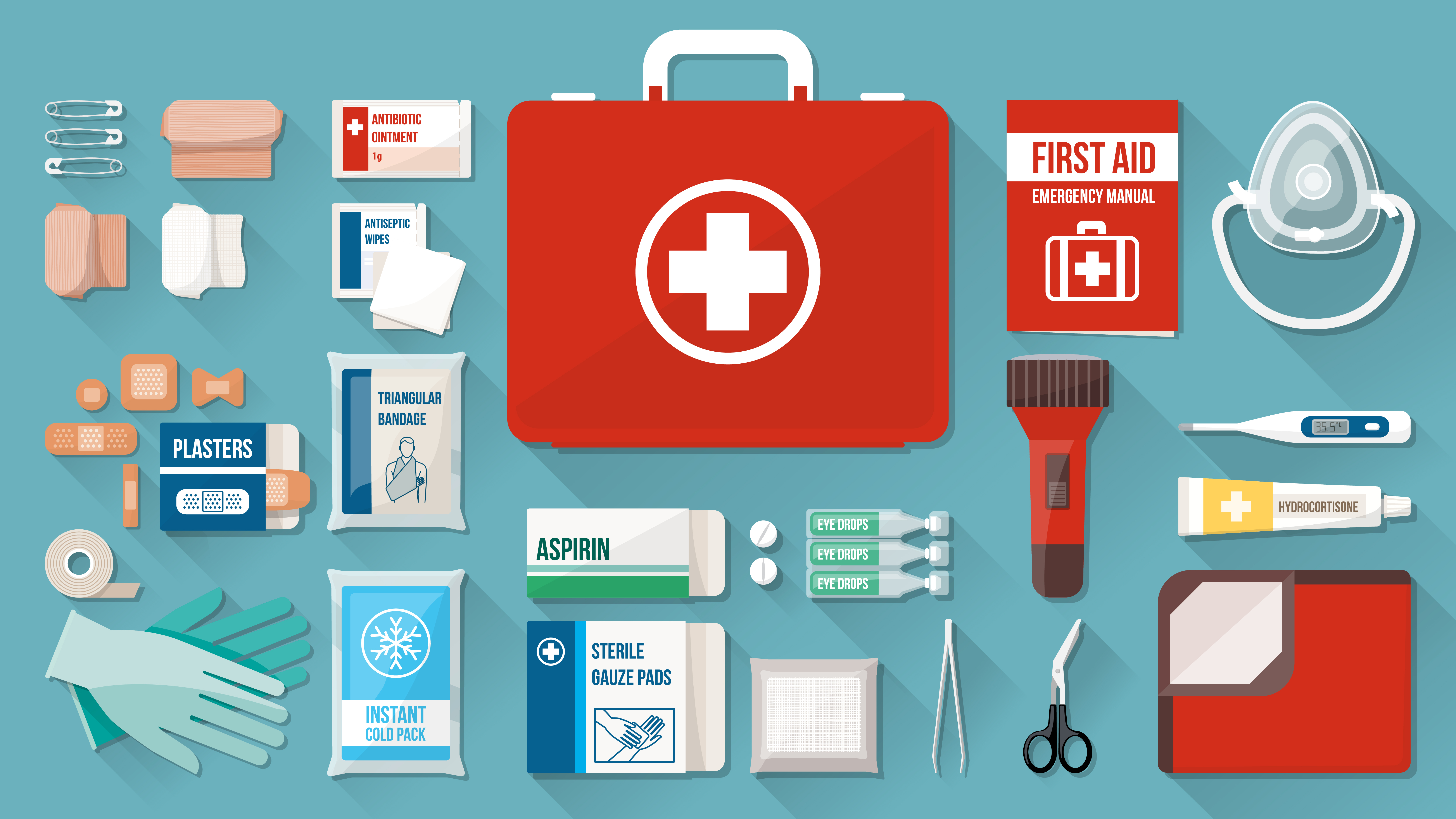 What should be in the first-aid kit at home: a list of drugs 98
